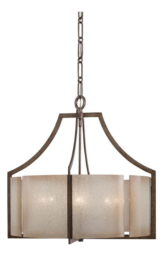 Minka-Lavery 6 Light Chandelier Lighting With Patina Finish