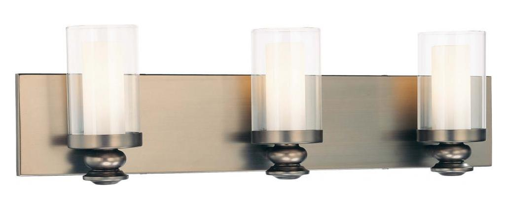 Minka-Lavery 3 Light Harvard Court Bronze Bath Light