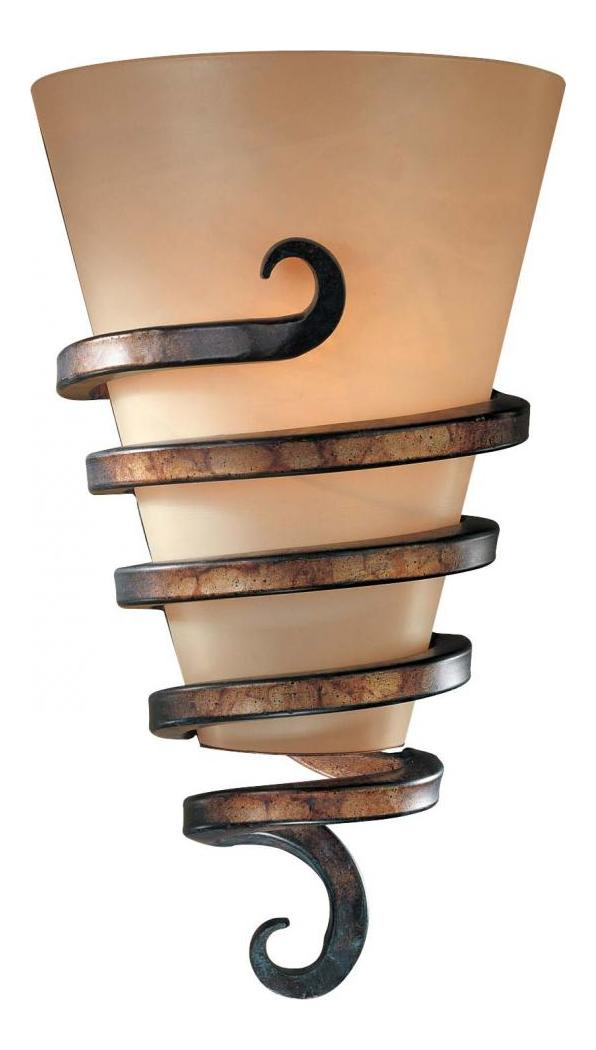 Minka-Lavery Tofino Bronze 1 Light Wall Sconce From The Tofino Collection