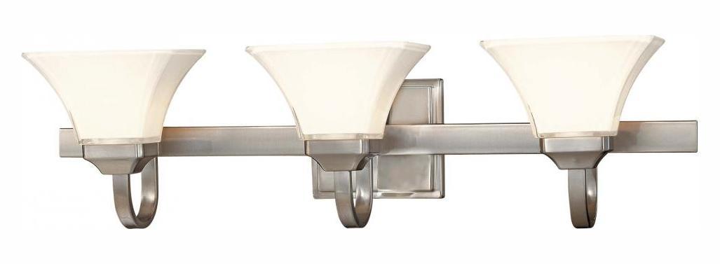Minka-Lavery 3 Light Bath In Brushed Nickel Finish Brushed