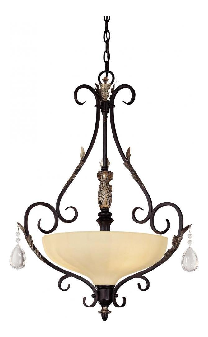 Minka-Lavery 3 Light Bellasara Bowl Pendant With Silver Finish