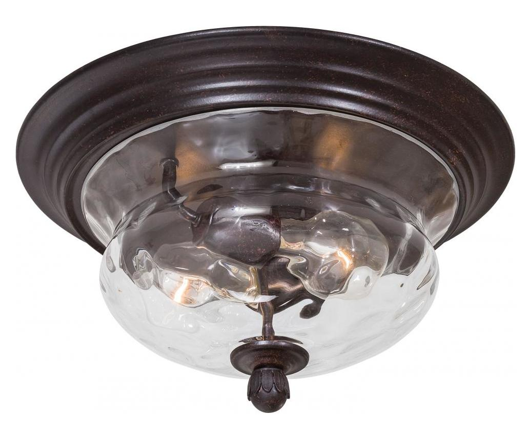 Minka-Lavery 2 Light Flush Mount In Corono Breeze Finish