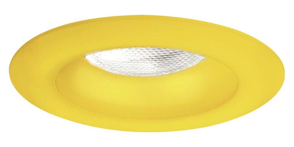 Minka-Lavery 4 In. Frosted Sunshine Yellow Glass Trim Ring