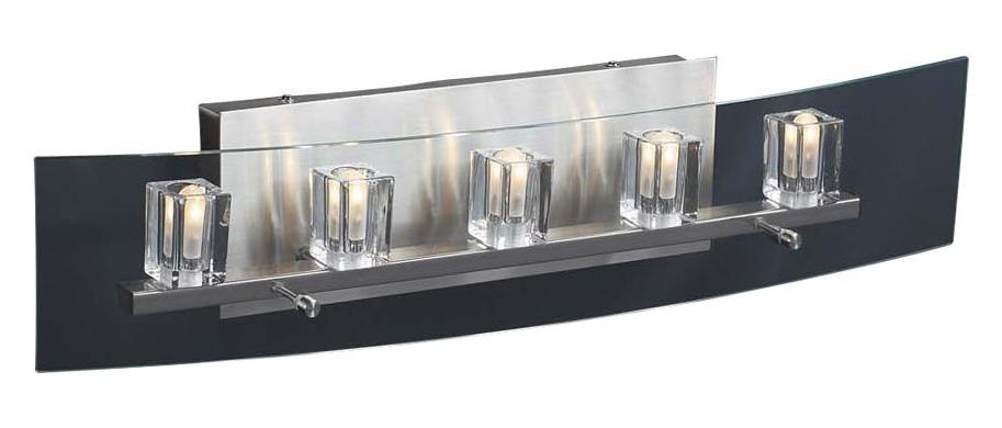 PLC Lighting 5 Light Vanity Ice Cube Collection