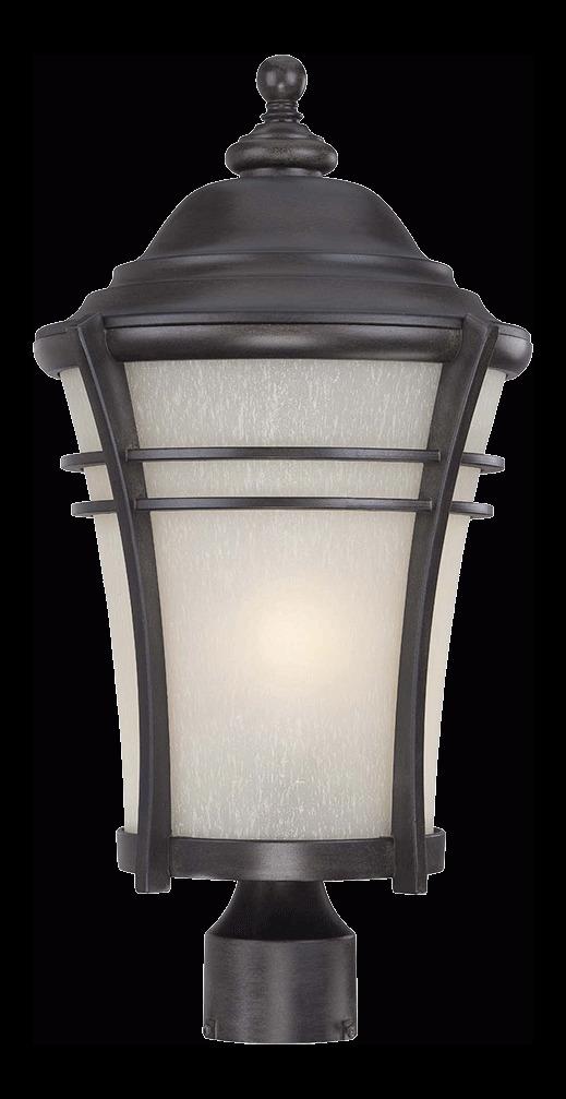 Acclaim Lighting Vero Collection Post Lantern 1 Light