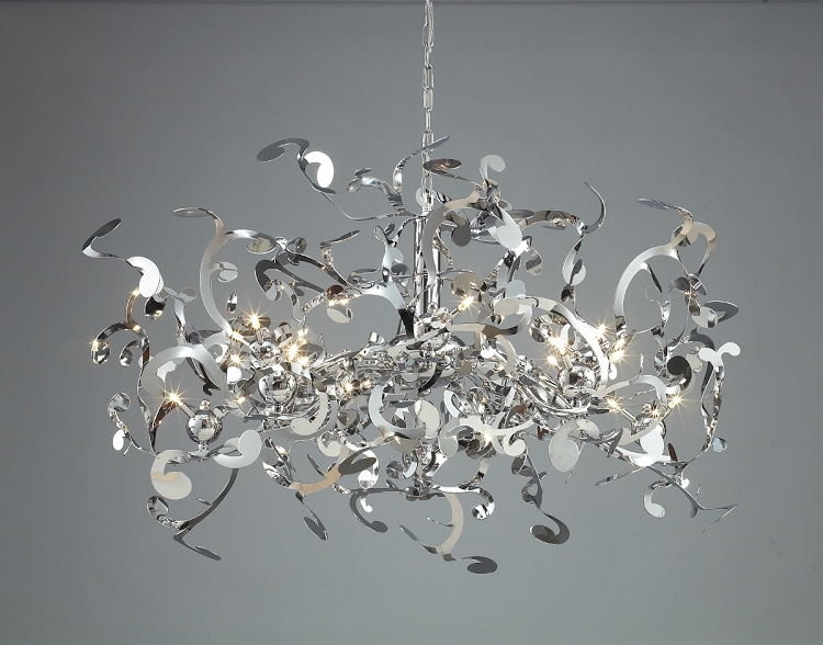 Ribbon Light Fixture : Joshua marshal light ribbon pendant chandelier