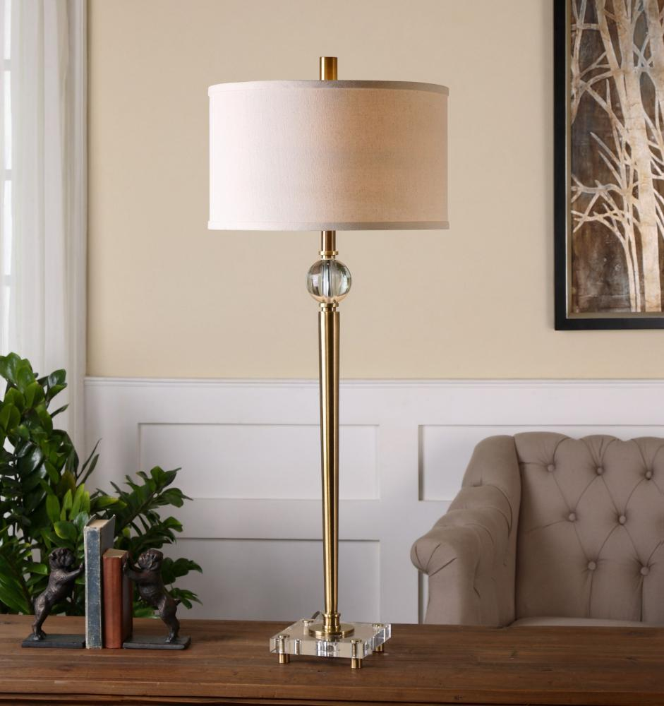 Uttermost Mesita Brass Buffet Lamp Brass 26959 1 From