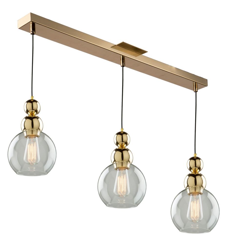 Artcraft Etobicoke 3 Light Gold Island Light Ja14012gd