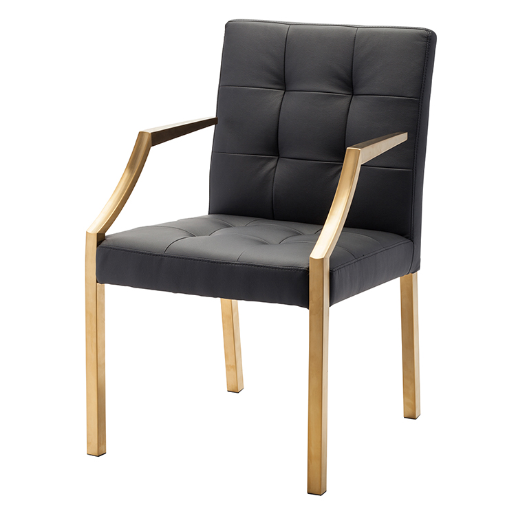 Nuevo Brie Dining Chair Black: Nuevo Black Paris Dining Chair HGTB345