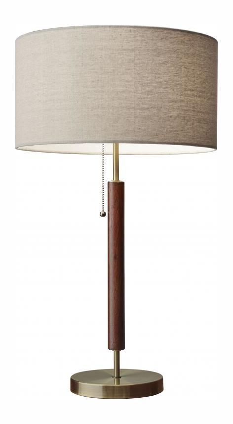 Adesso Hamilton Table Lamp Walnut 3376 15 From Hamilton