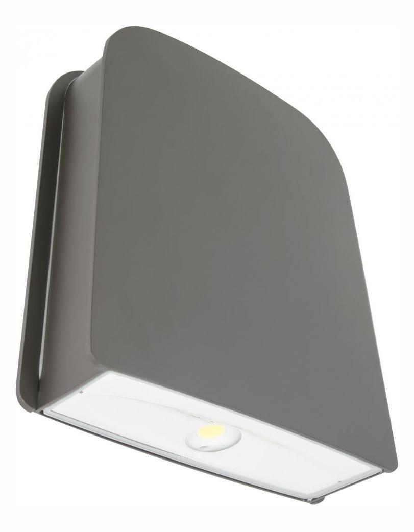 Wall Sconces 277 Volt : American Lighting Radar Wall Pack, 100-277 Volt, 5000 K, 13 Watt , Dark Bronze, C/Ul Wet ...