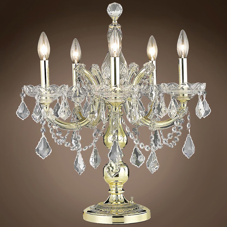 JM Maria Theresa 5 Light 19 Table