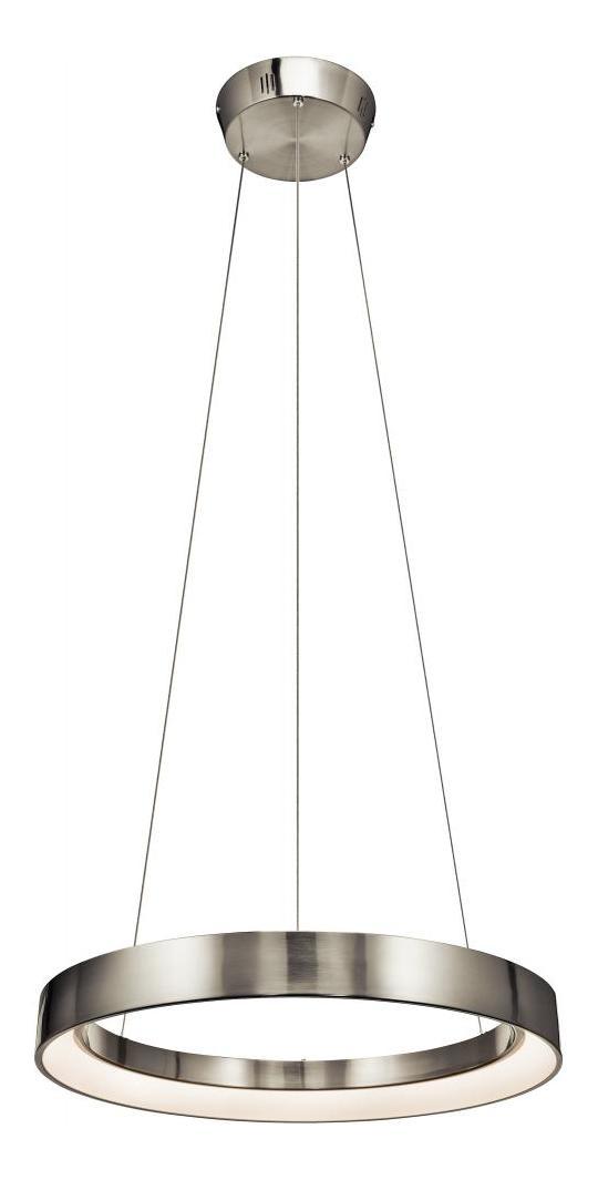 Elan Brushed Nickel Fornello Large Pendant Ni Brushed