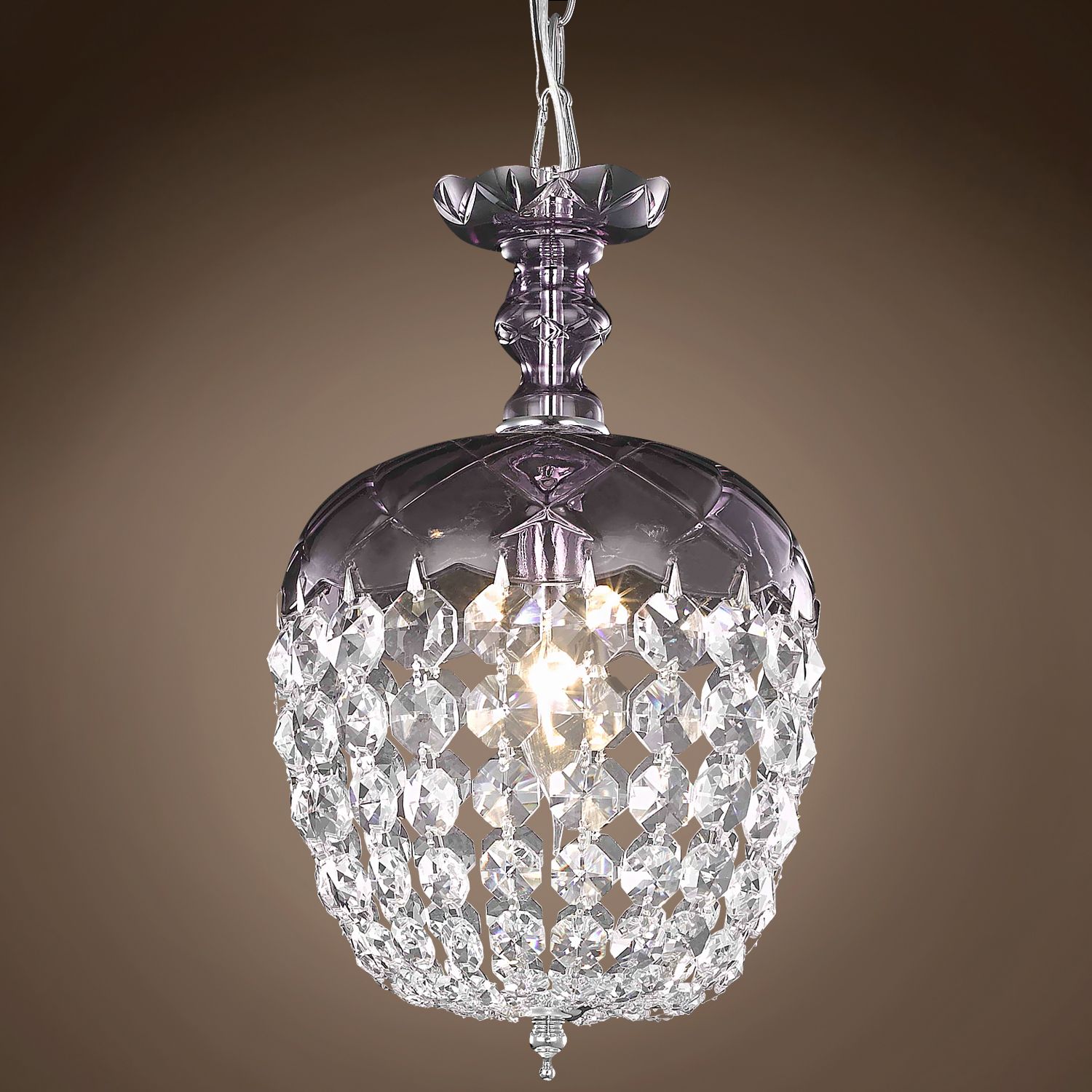 Joshua Marshal 701403 Harvest Design 1 Light 8 Quot Purple