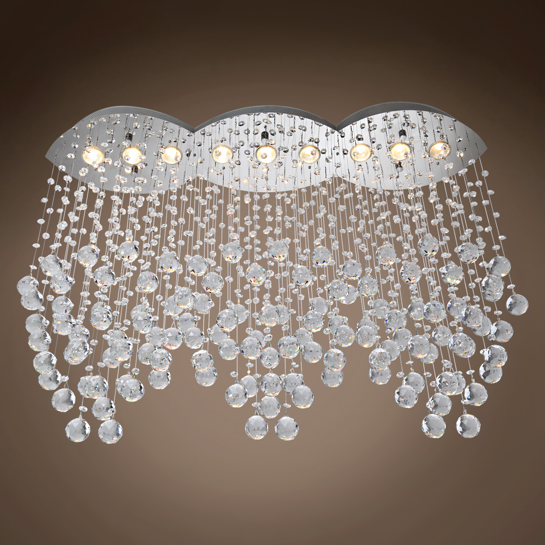 100 Sparkling Swarovski Crystals Chandelier Made