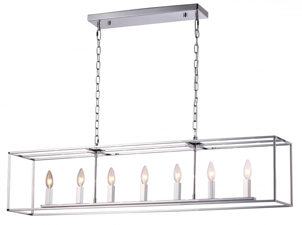 Artcraft Modern Elegance 3 Light Chrome