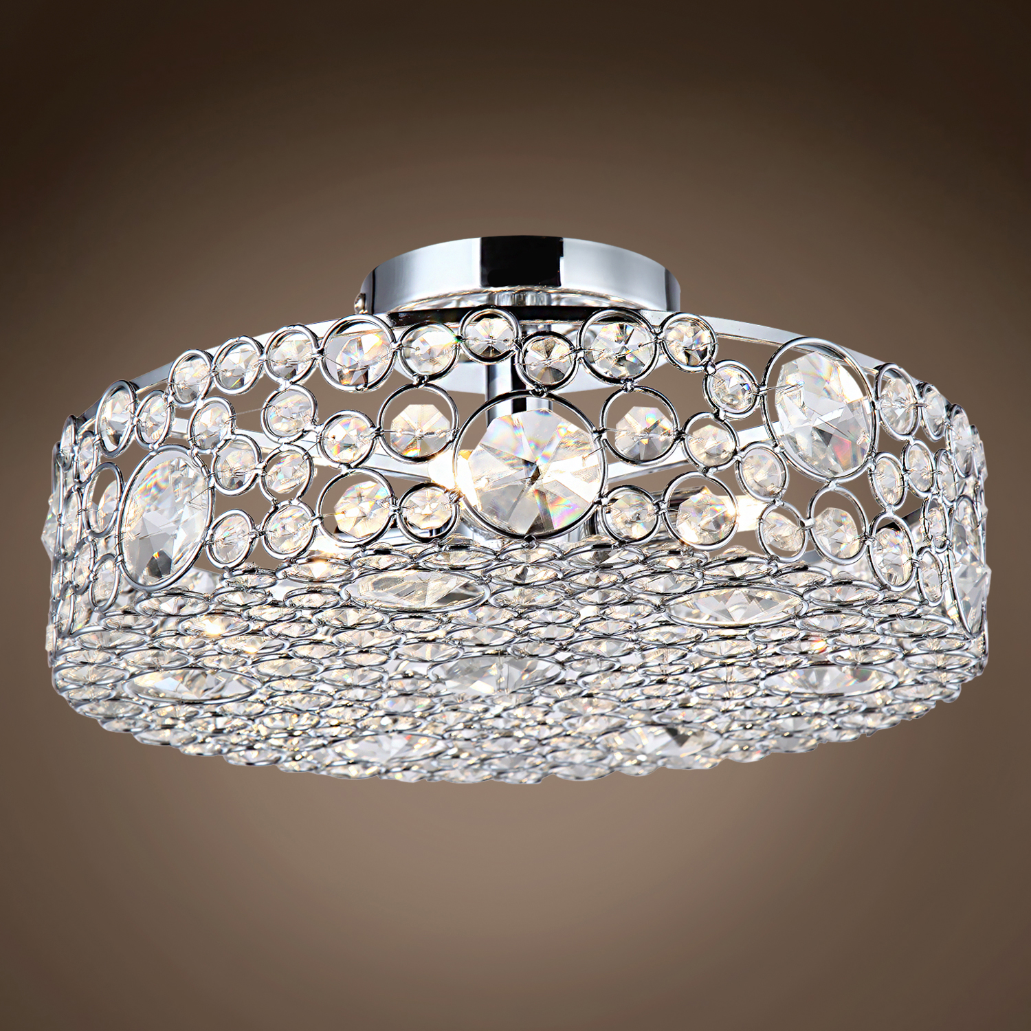 Joshua Marshal Limited Edition 4 Light 13 Quot Round Crystal