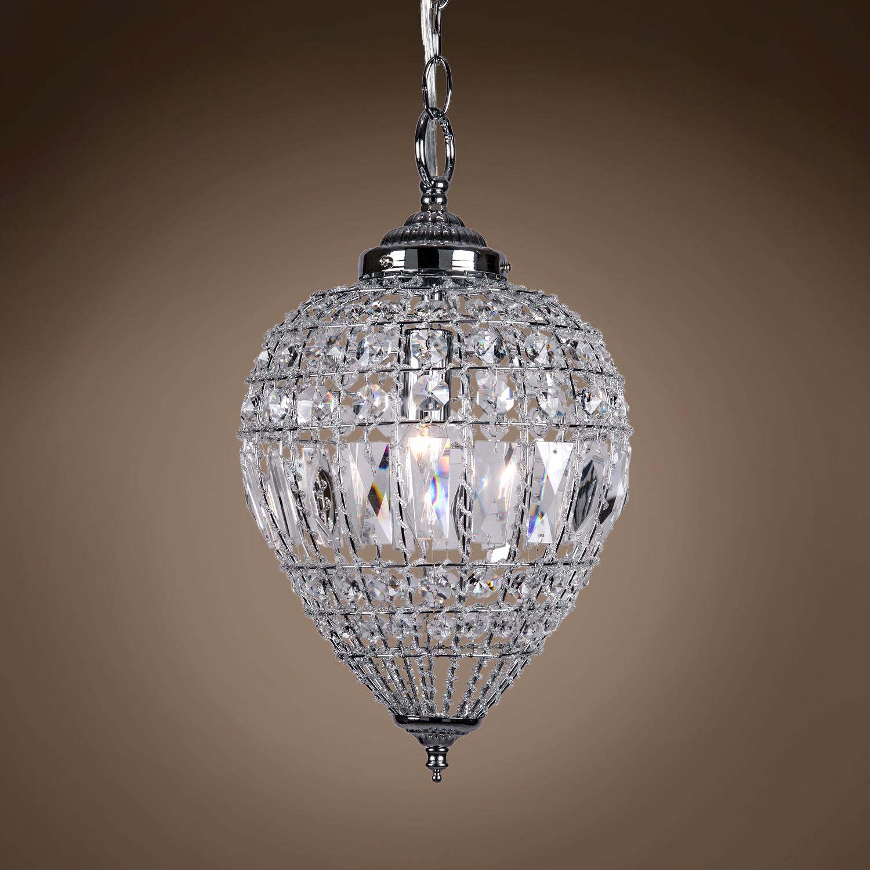 joshua marshal limited edition 1 light 9 beaded crystal mini pendant light in chrome finish. Black Bedroom Furniture Sets. Home Design Ideas