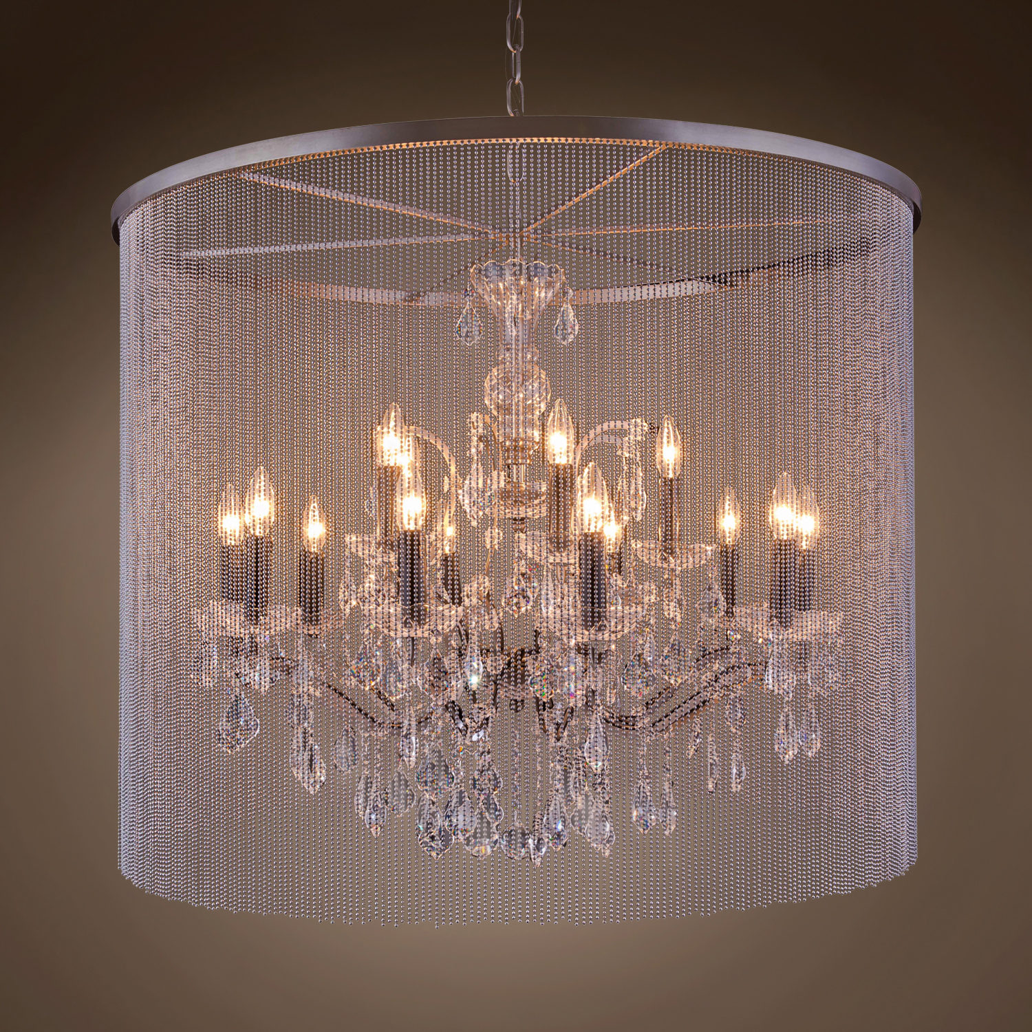 crystal and light chandelier garden gallery versailles iron product wrought shipping home free today overstock