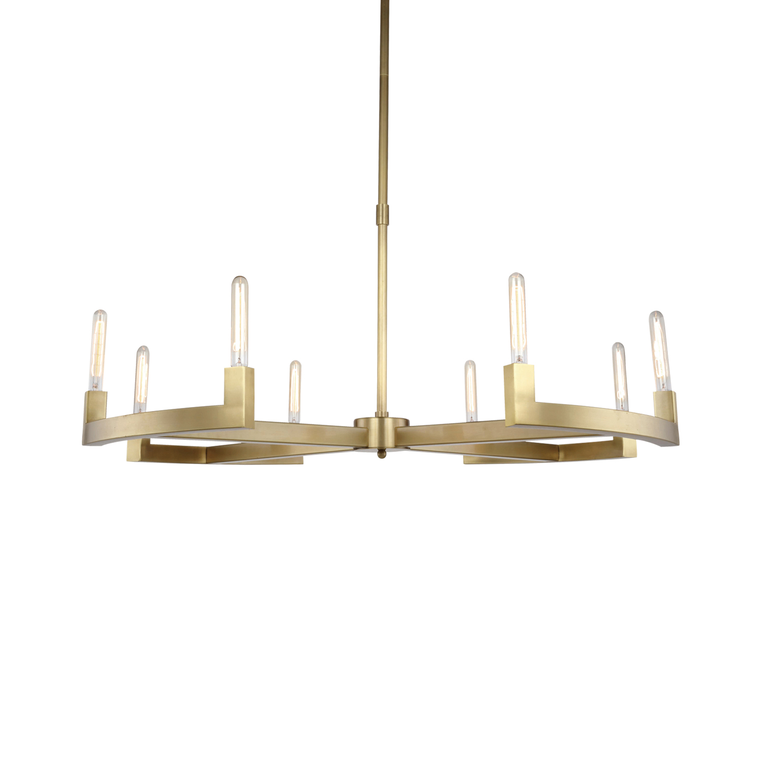 Restoration revolution cannele 8 light 48 round chandelier 701982 cannele 8 light 48 round chandelier arubaitofo Choice Image