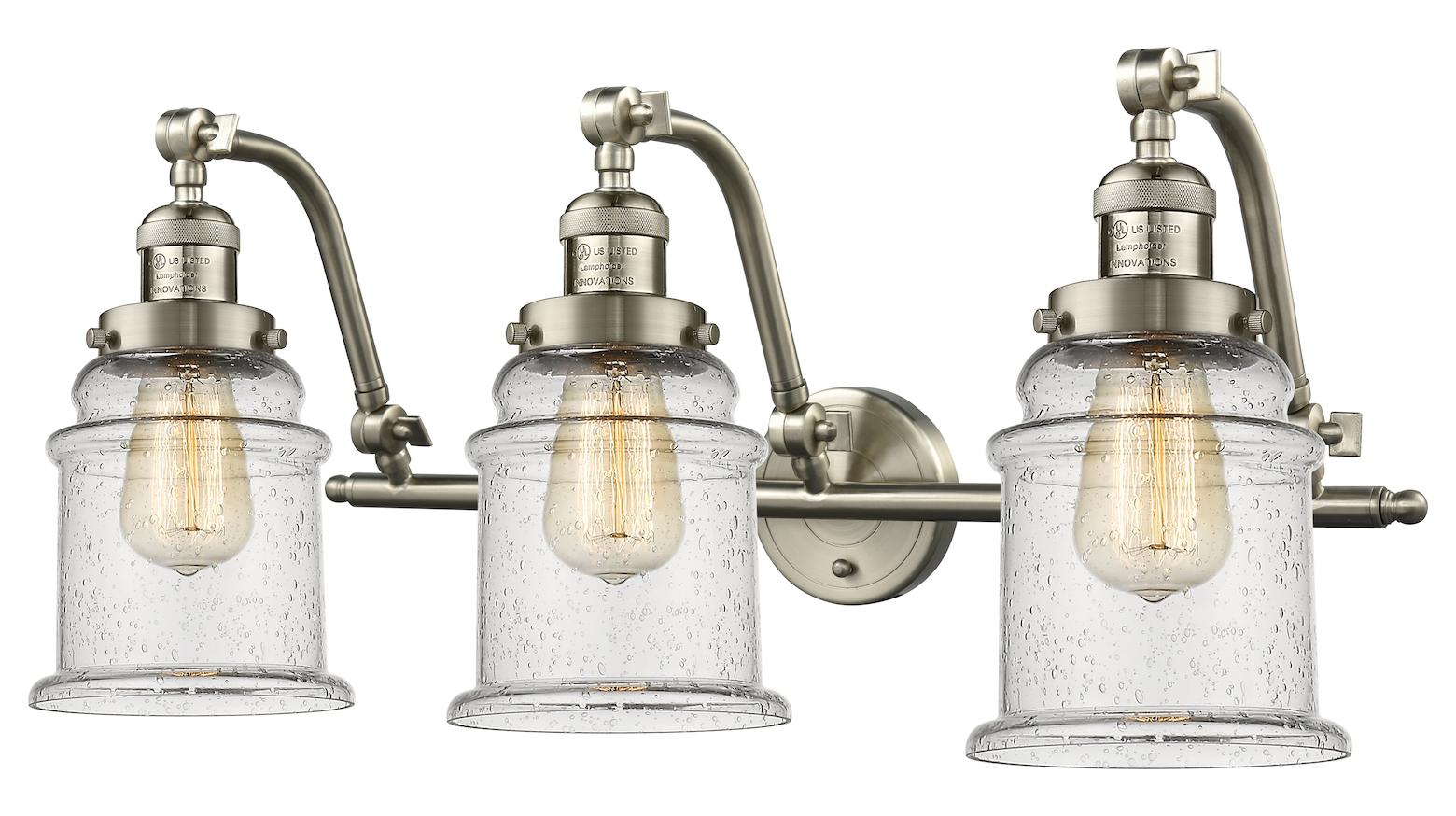 Innovations Lighting 3 Light Vintage Dimmable Led Bathroom
