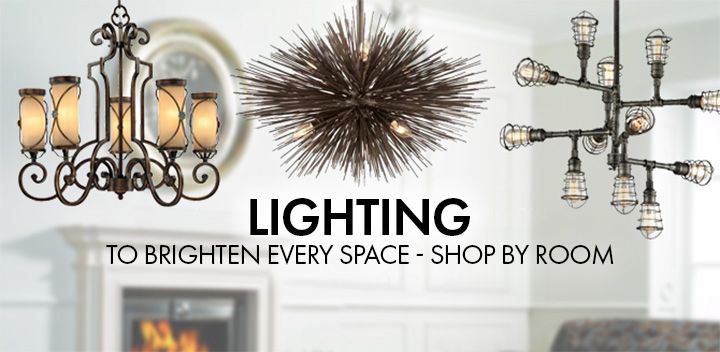 shop lighting by room