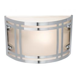 Access Frosted Single Light Ambient Lighting Outdoor Wall Sconce From Poseidon