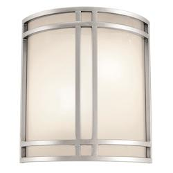 Access Satin / Opal Two Light Ambient Lighting Wall Washer From The Artemis Collection