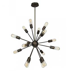Access Bronze Flux 16 Light Pendant
