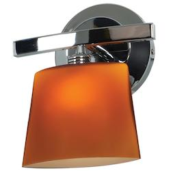 Access Chrome / Opal Sydney 1 Light Wall Sconce