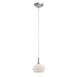 Access Black Line Delta 1 Light Mini Pendant