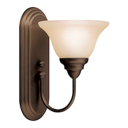 Kichler Brushed Nickel Single Light Wall Sconce