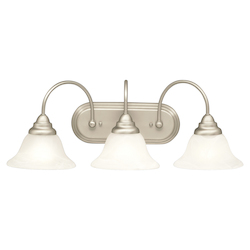 Kichler Nickel Contemporary / Modern Two Light Down Lighting 24