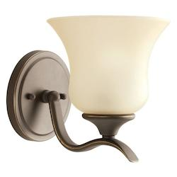 Kichler Olde Bronze Fluorescent Energy Efficient 1 Light Wall Sconce