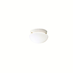 Kichler One Light White Mushroom Flush Mount 12 Pack