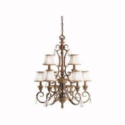 Kichler Kichler 2441Rvn Ravenna Ravenna 2-Tier  Chandelier With 9 Lights