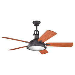 Kichler Distressed Black Ceiling Fan