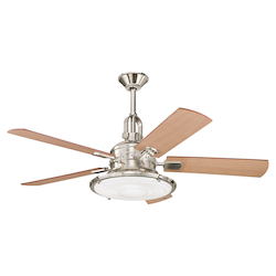 Kichler Polished Nickel Ceiling Fan
