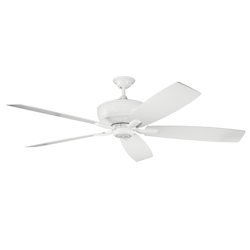 Kichler White 70In. Indoor Ceiling Fan With 5 Blades