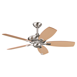 Kichler Brushed Stainless Steel Ceiling Fan