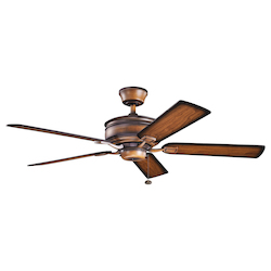 Kichler Mediterranean Walnut  52In. Indoor Ceiling Fan