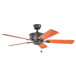 Kichler Olde Bronze 52In. Indoor Ceiling Fan With 5 Blade