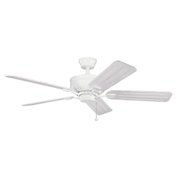 Kichler White 52In. Indoor Ceiling Fan With 5 Blades