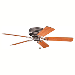 Kichler Oil Brushed Bronze 52In. Indoor Ceiling Fan With 5 Blades