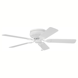 Kichler White Hugger Ceiling Fan