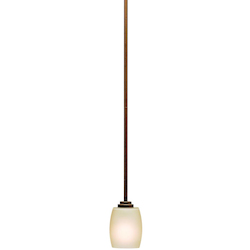 Kichler One Light Olde Bronze Down Mini Pendant