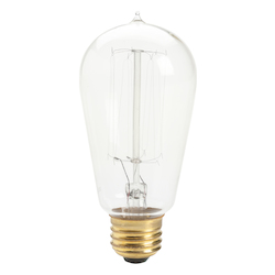 Kichler Kichler 4071Clr Pack Of 6 Antique Style Incandescent Light Bulbs