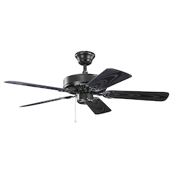 Kichler Satin Black 42In. Ceiling Fan
