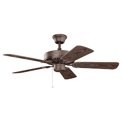 Kichler Satin Natural Bronze 42In.  Ceiling Fan