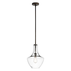 Kichler One Light Olde Bronze Down Pendant